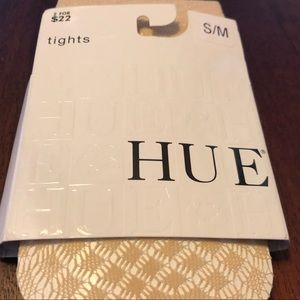 HUE Tights in Cream - S/M - New!